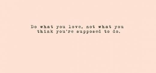 30-ers dilemma do what you love quote