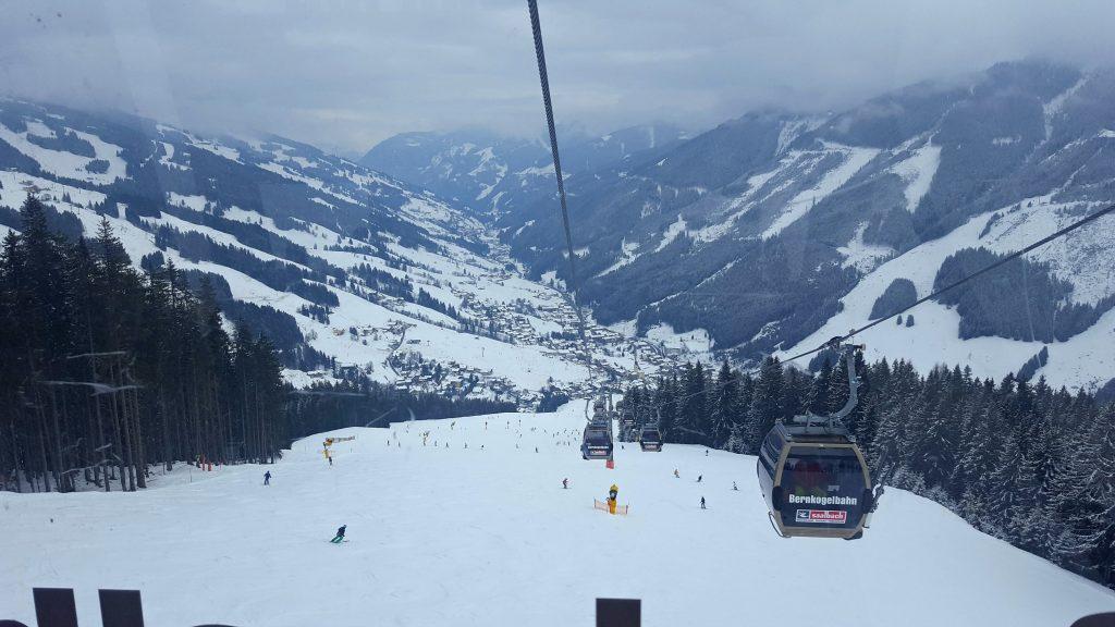 Saalbach oostenrijk vlog skien met een hersenletsel