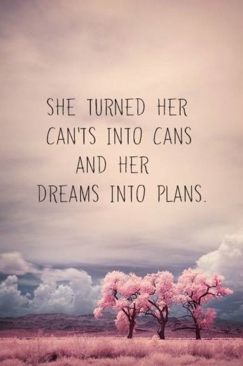 dreams into plans quote