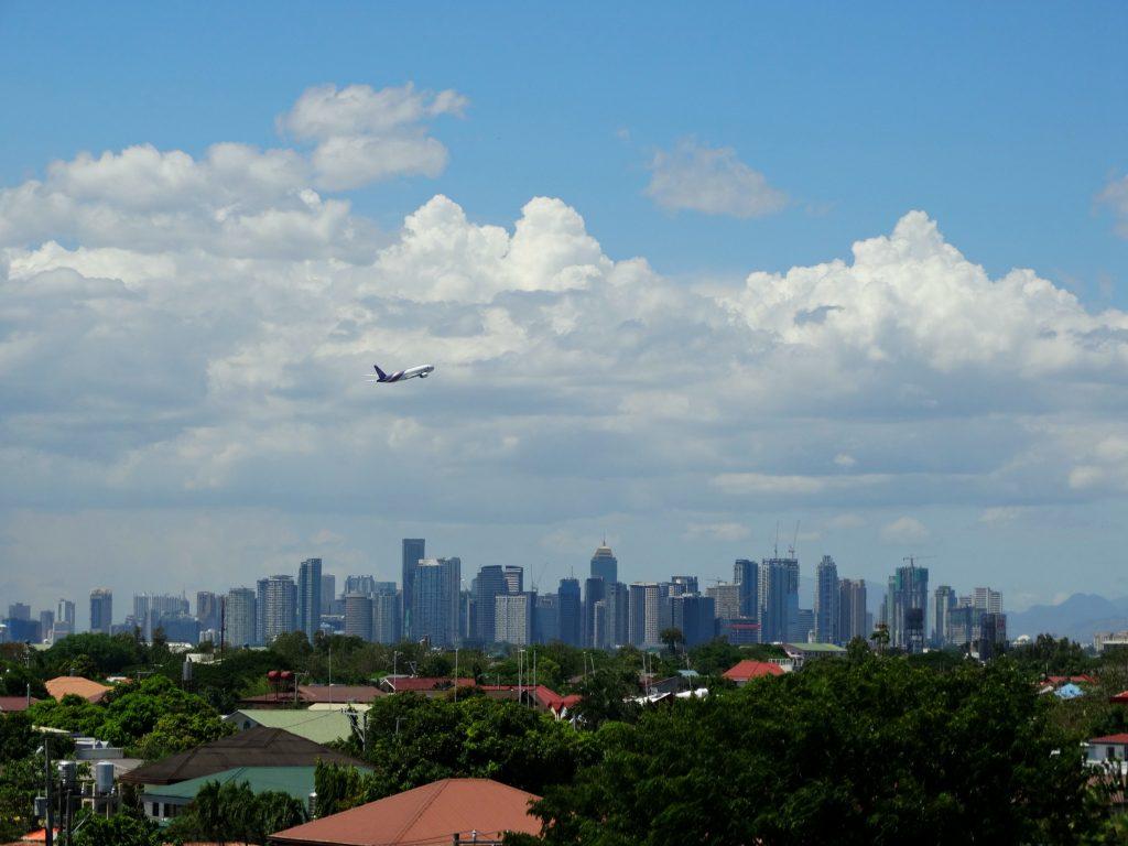skyline manilla filipijnen