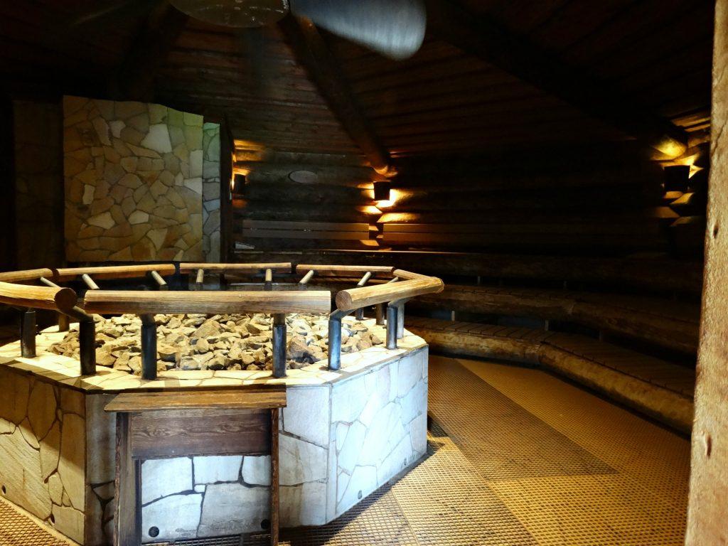 finse sauna fontanta resort