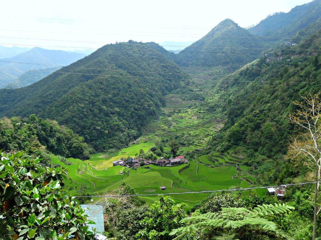 bangaan village hiken door de rijstvelden filipijnen