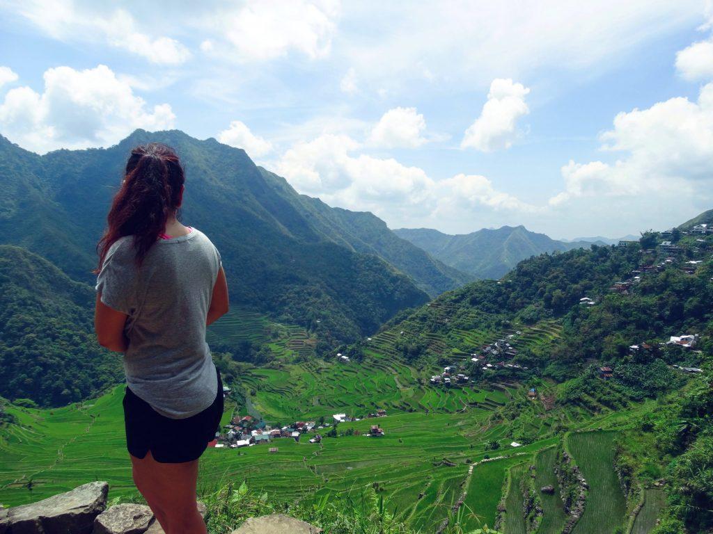 hiken rijstvelden batad filipijnen