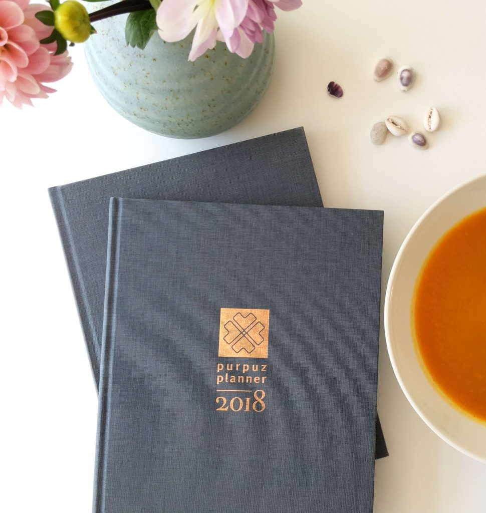 Purpuz-planner-2018-met-soep-en-bloem-
