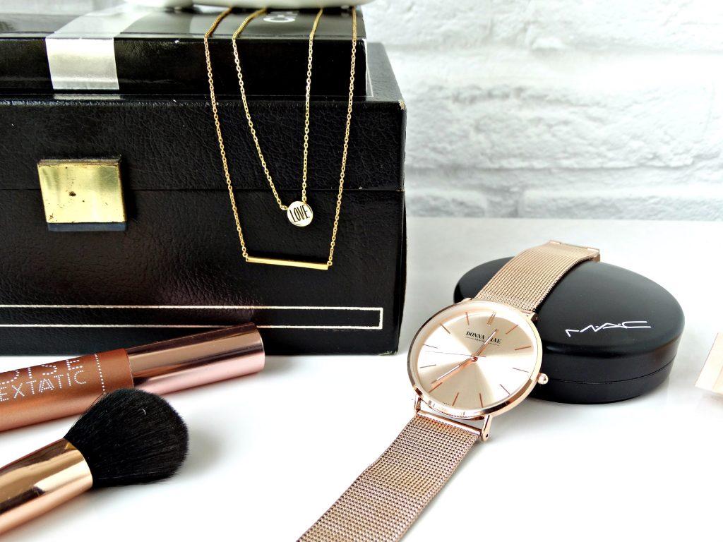 lucardi minimalistische sieraden ketting nieuw horloge