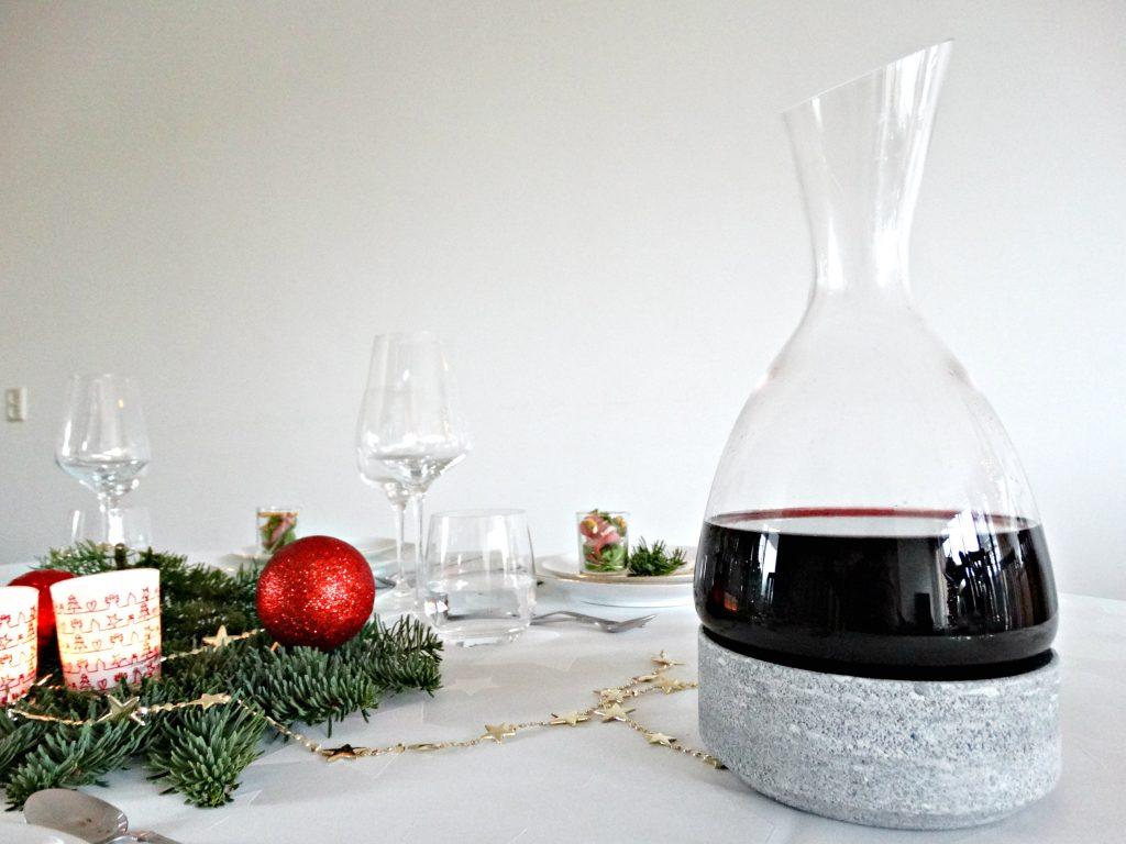 royal leerdam wijnkaraf femme review kerstdiner
