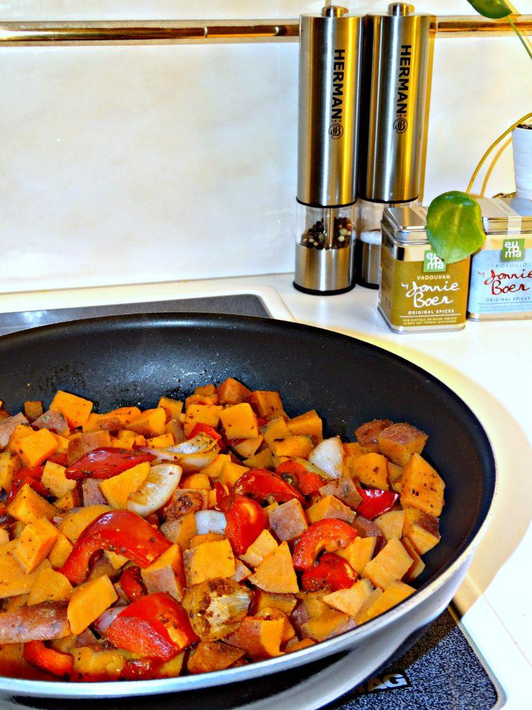 bloemkooltajine recept marley spoon