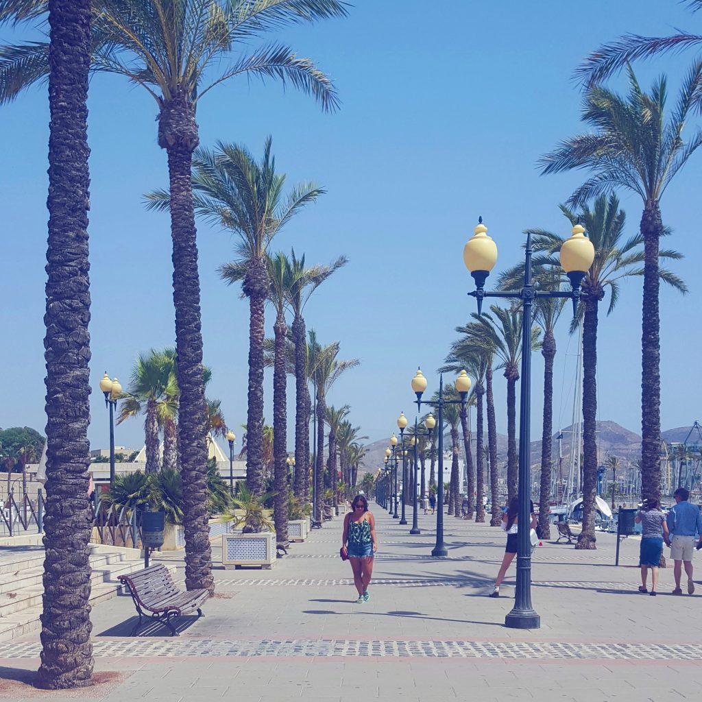 zomer vakantie met de auto spanje cartagena