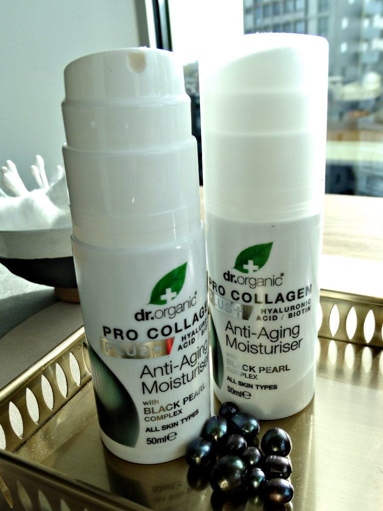 dr organic pro vallogen moisturisers