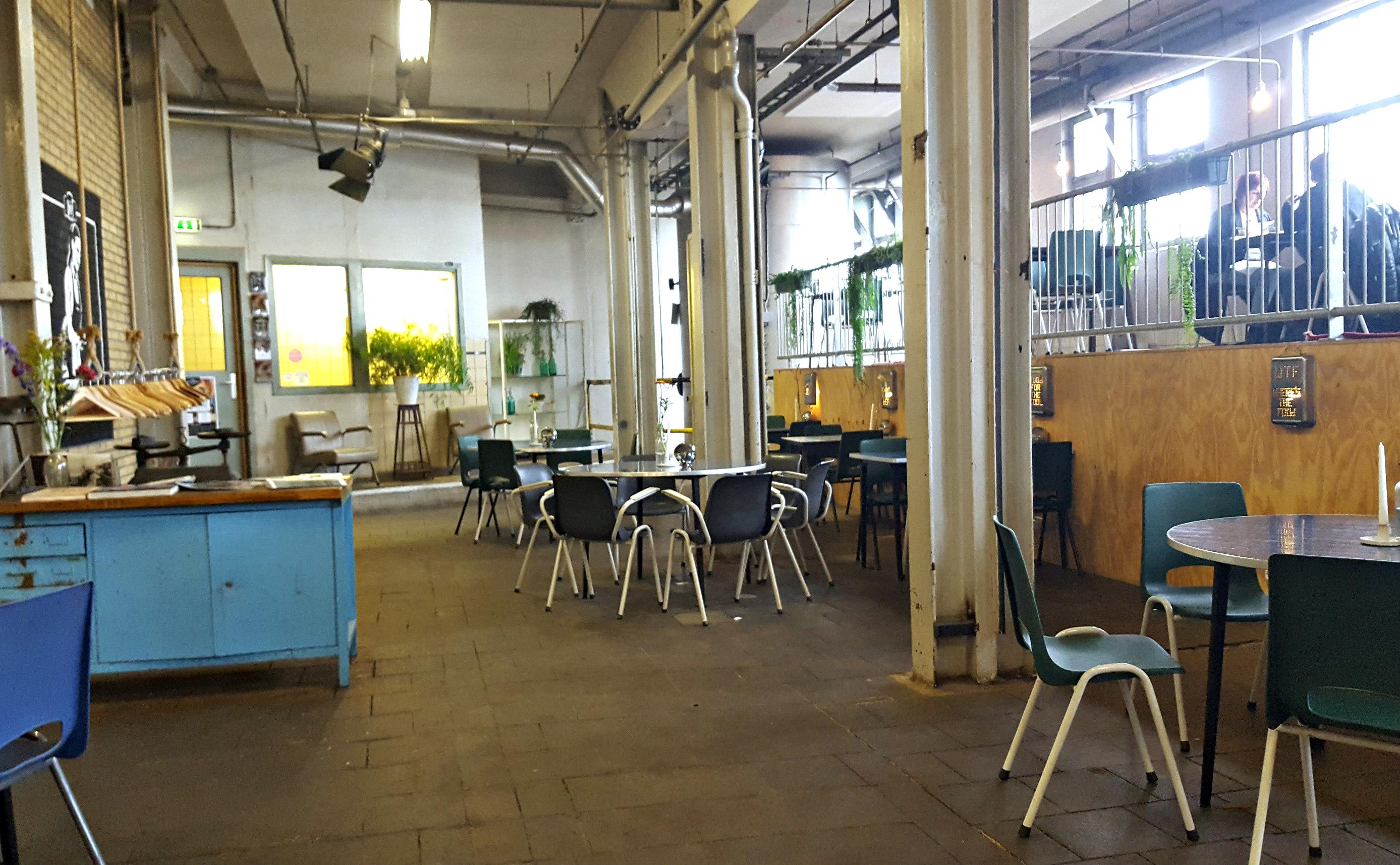 industriele interieur lunchen bij meesterproef hotspot nijmegen ...