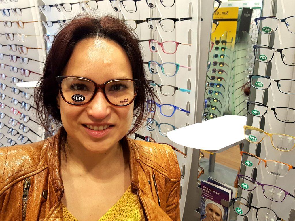 specseavers bril uitzoeken montuur