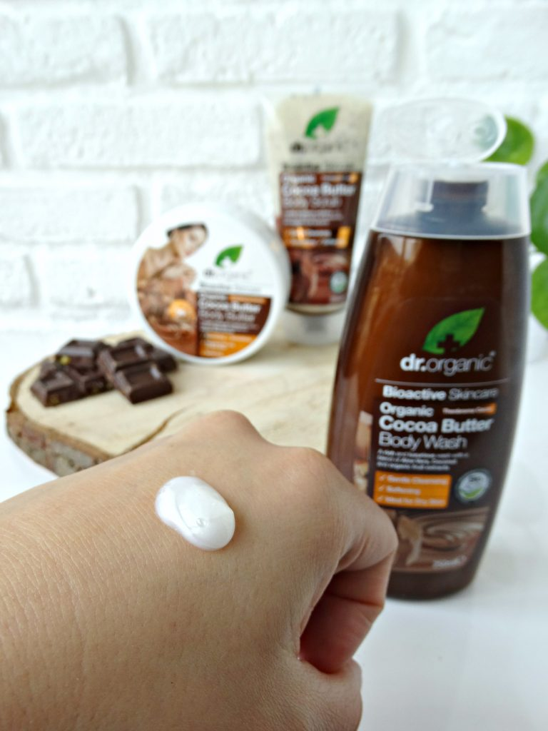 Dr organic body wash cocoa butter