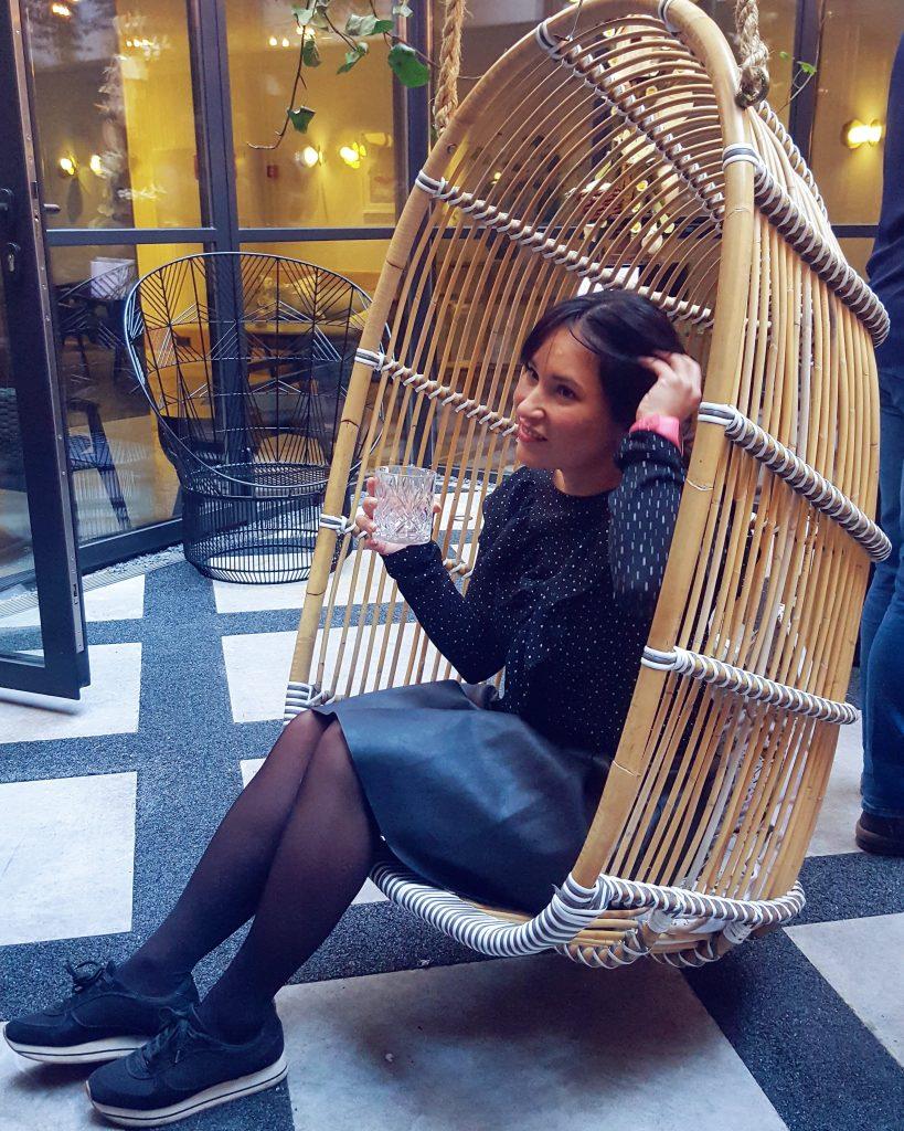 rust vinden hangstoel