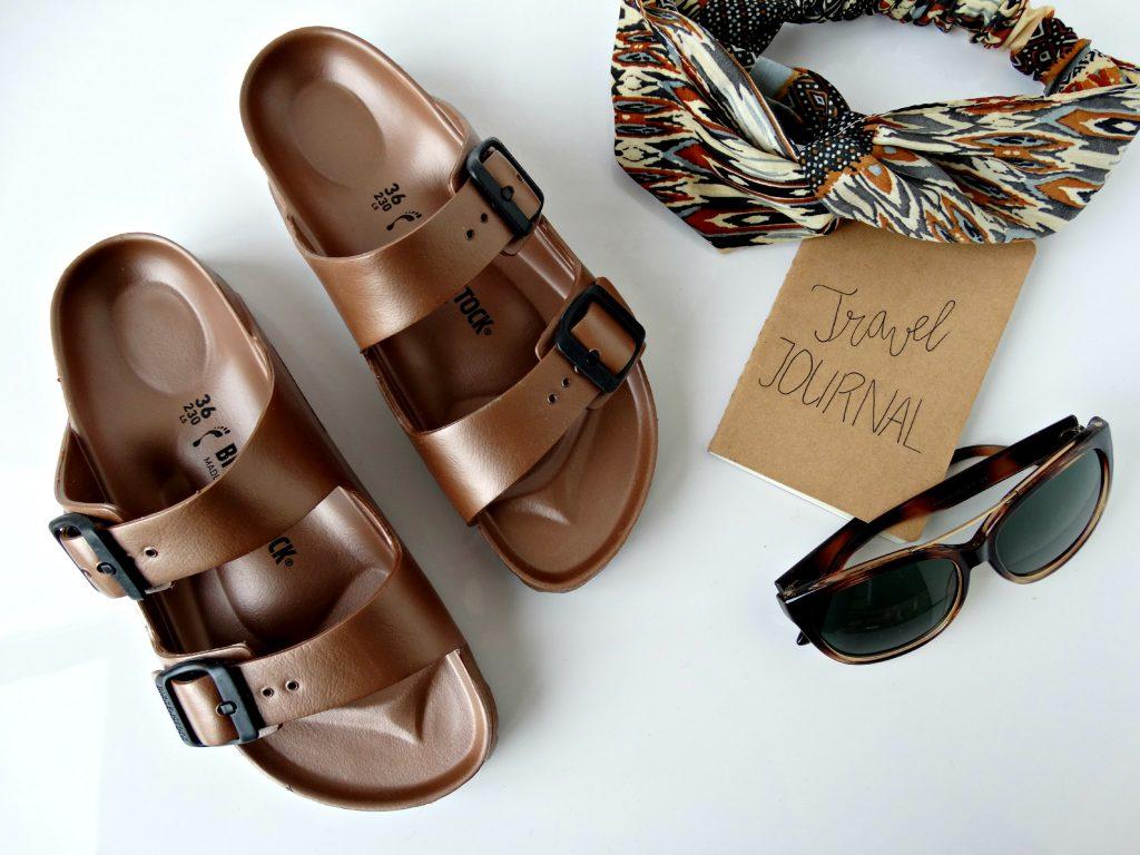 birkenstock metallic schoenen van footway