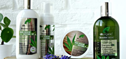 hennep olie shampoo dr organic