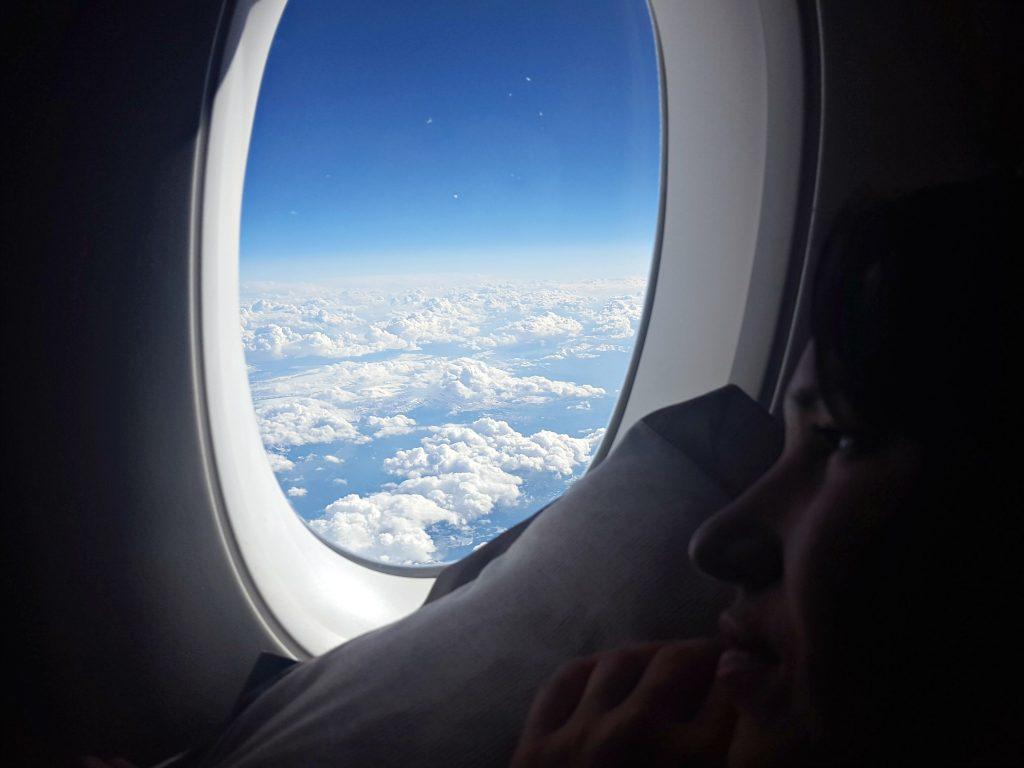 vliegen doen tegen een jetlag rusten