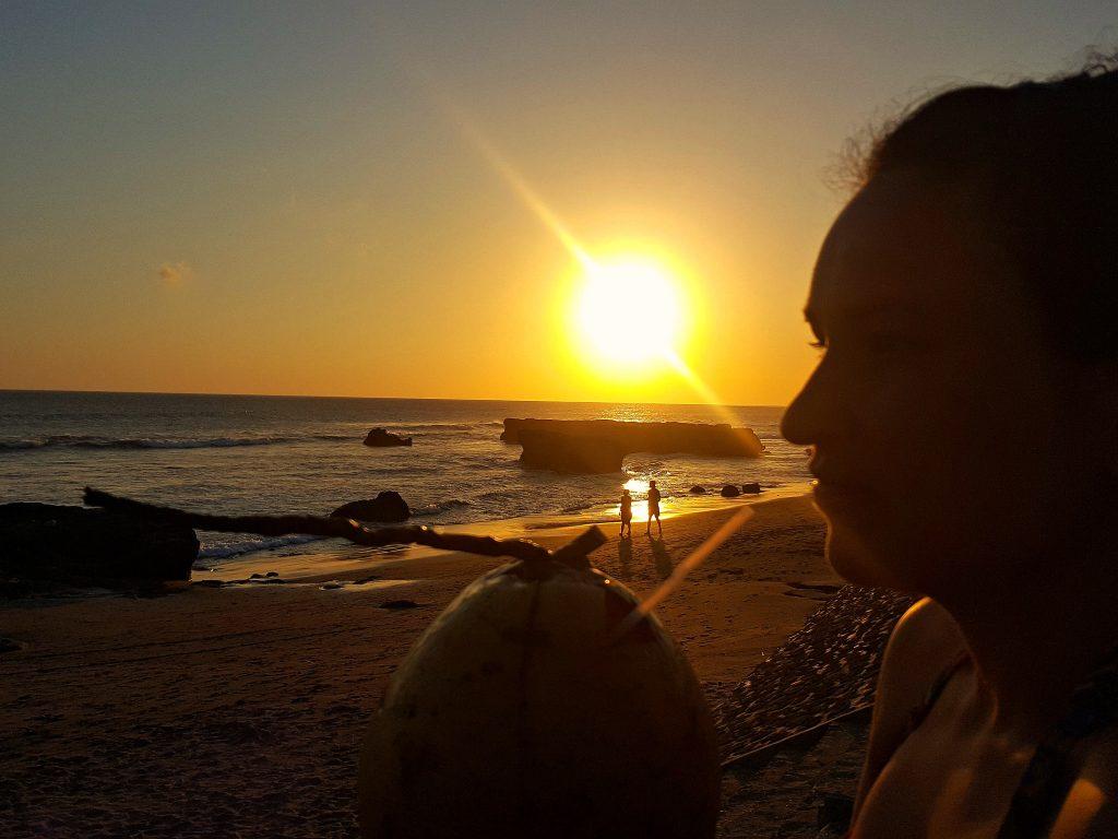 canggu zondsondergang indonesie rustige reisroute door bali