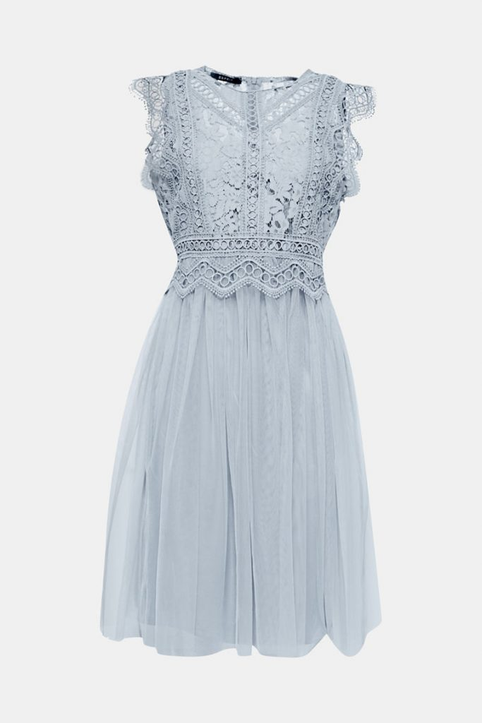 italian chique bruiloft kanten jurk esprit