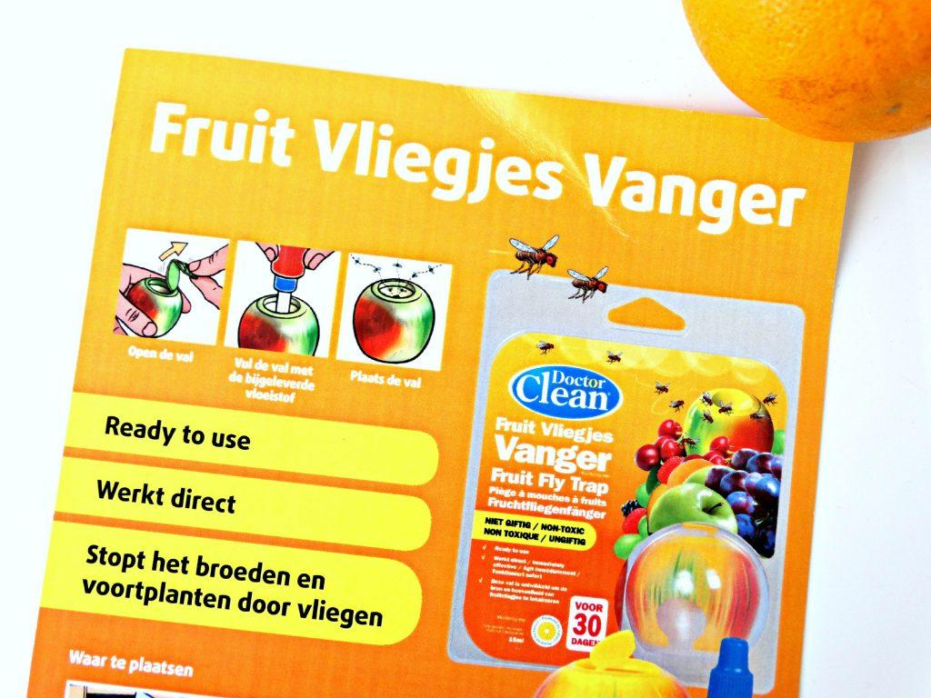 wondermiddel tegen fruitvliegjes doctor clean