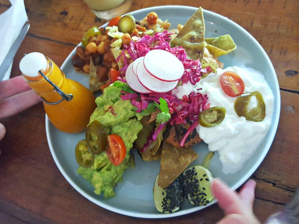 healthy nachos shady shack hotspot canggu bali