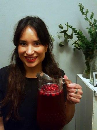 kerst cocktail vodka cranberry