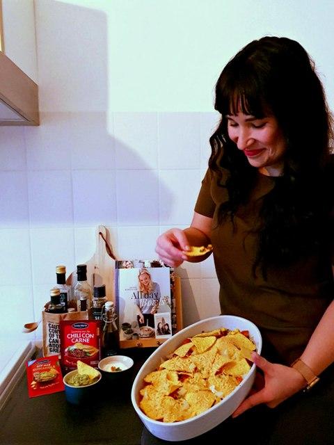 recept nachoschotel vegetarisch tex mex