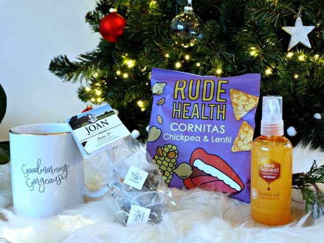verse groene thee tea by me bee honest body oil rude health cornitas gezonde feestdagen jouwbox