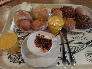 Het ontbijt bij de V&D is echt een aanrader