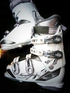 Mijn nieuwe skischoenen :D