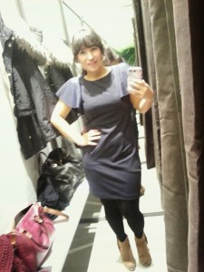 Selfie I in de kleedkamer