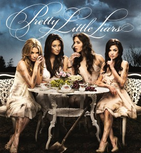 De meiden van Pretty Little Liars.  Bron: http://pretty-little-liars-photos.tumblr.com/