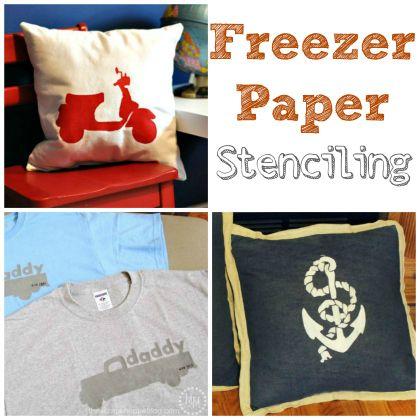 DIY Freezer paper ideeën