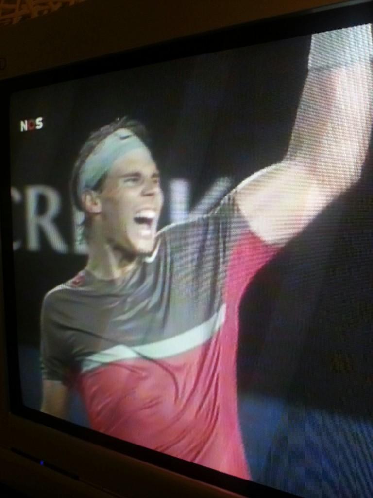 Nadal won van Federer