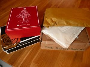 De unboxingpakketjes