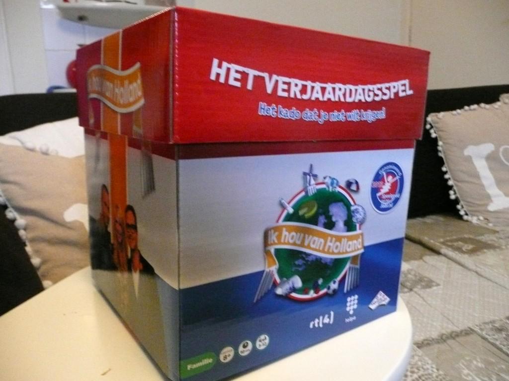 Het Ik Hou Van Holland Verjaardagsspel