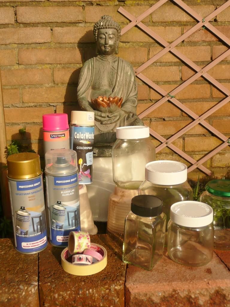 De belangrijkste benodigdheden voor de DIY