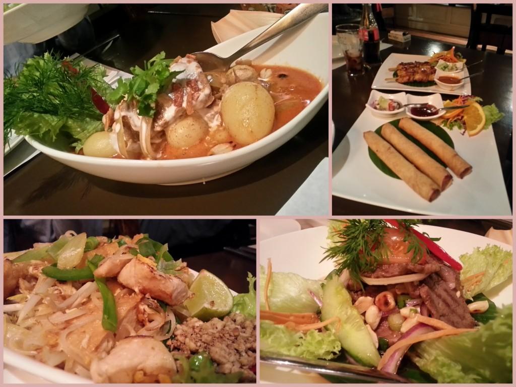 Eten bij de Thai