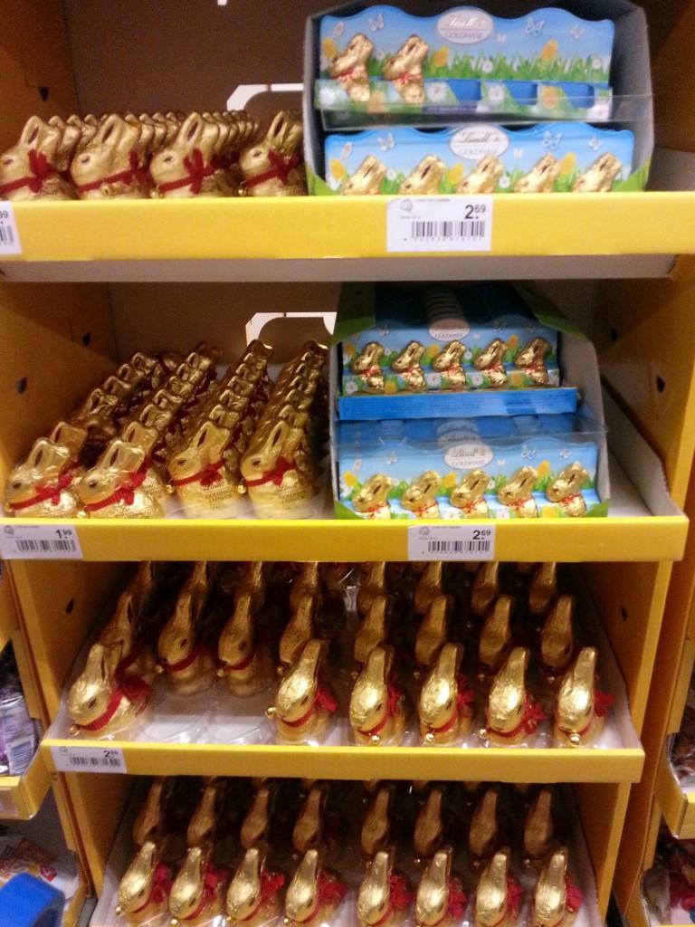 Lindt chocolade is  wel heeeeeel erg lekker
