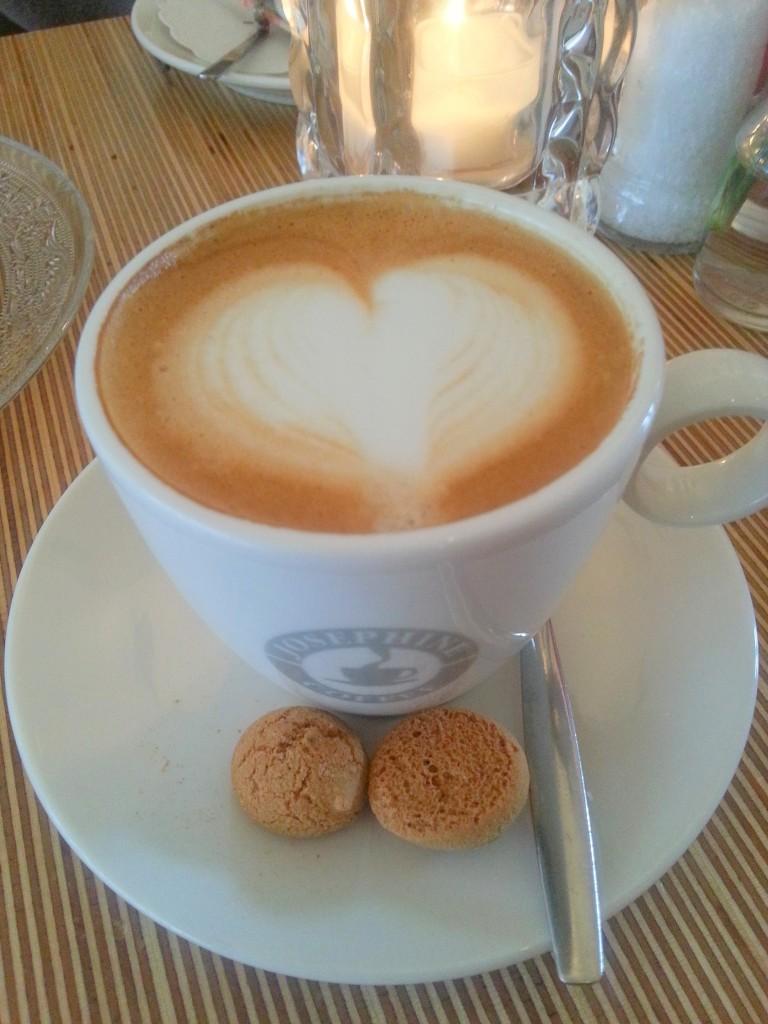 Cappuccino bij Josephine