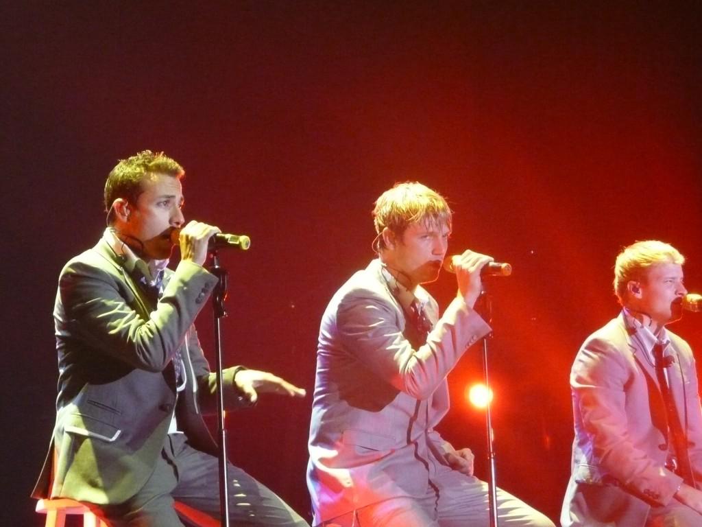BSB tijdens het concert in 2008