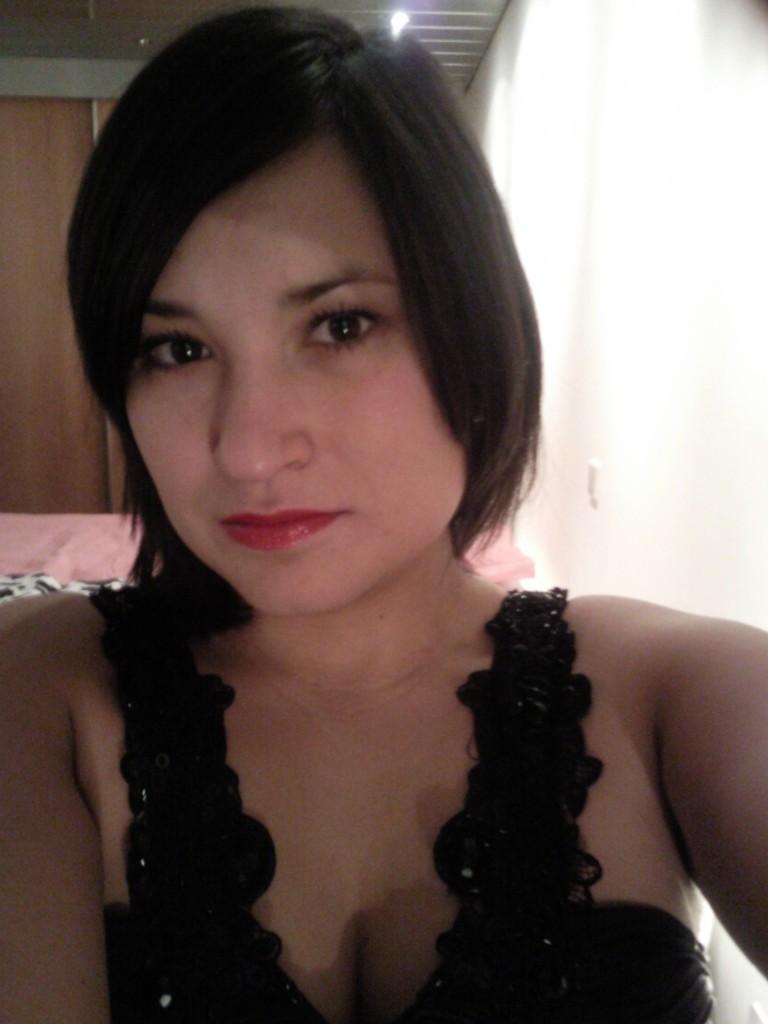Ik draag rood het liefst op mijn lippen