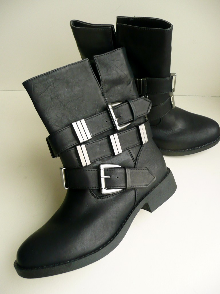 Mijn nieuwe laarzen