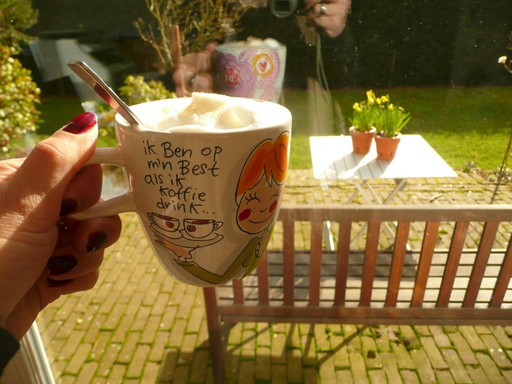 Koffie en zon <3