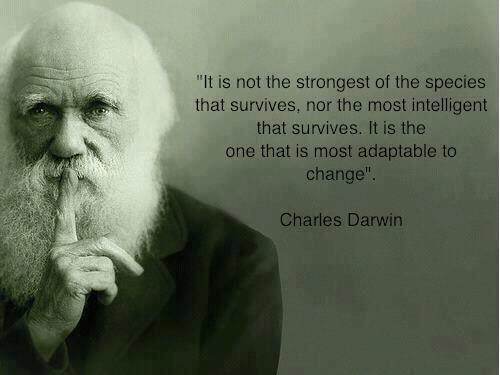 Wijze woorden van Darwin