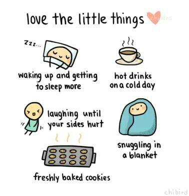 Het zijn de kleine dingen die het doen