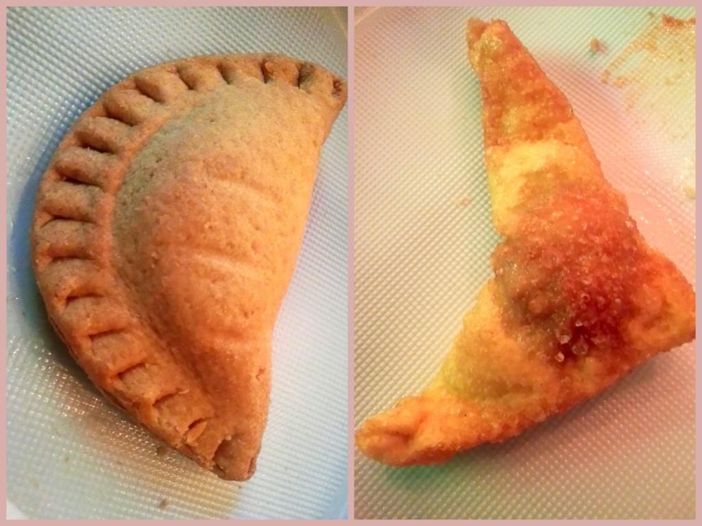 Pastei van gehakt en Pangsit.