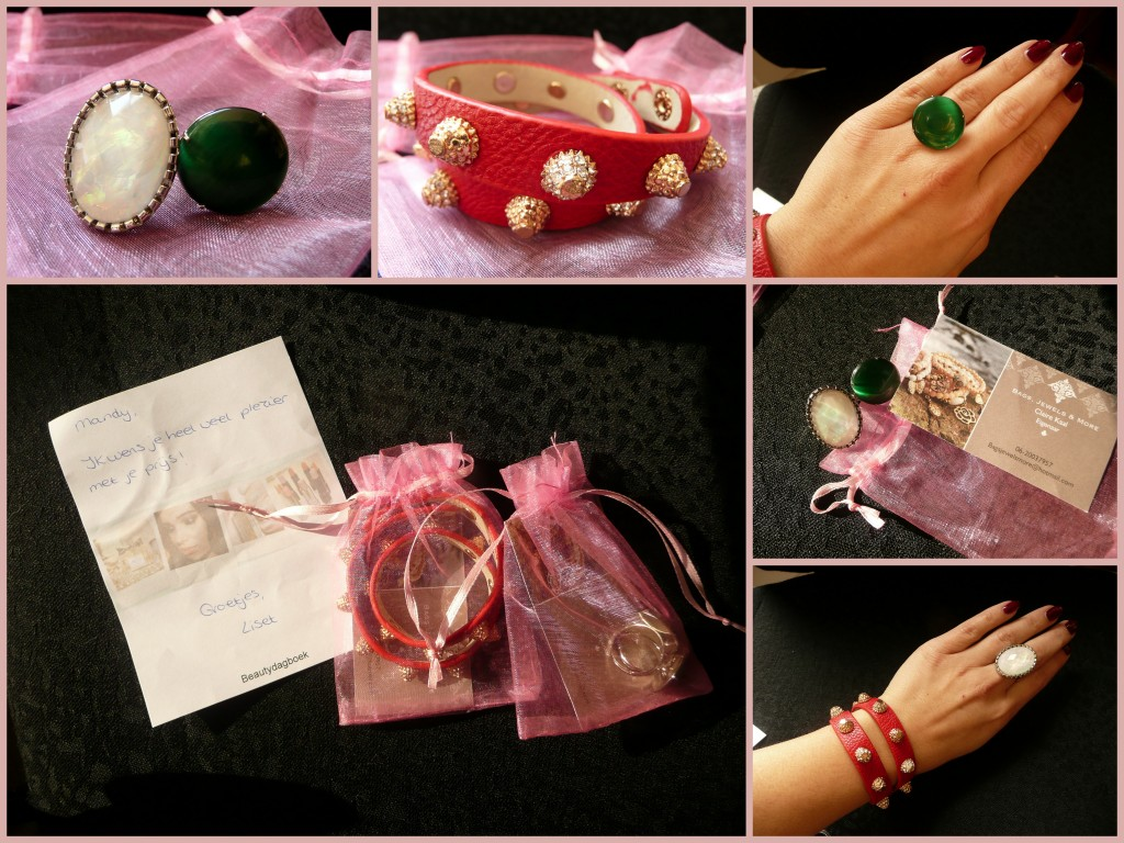 Mooie sieraden van Bags, Jewels & More ism Beautydagboek