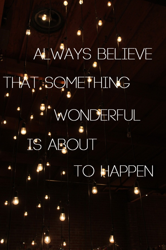 Denk positief!
