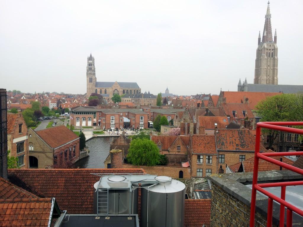 Brugge vanaf de brouwerij