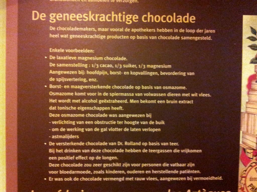 Zie, chocolade is goed voor je!